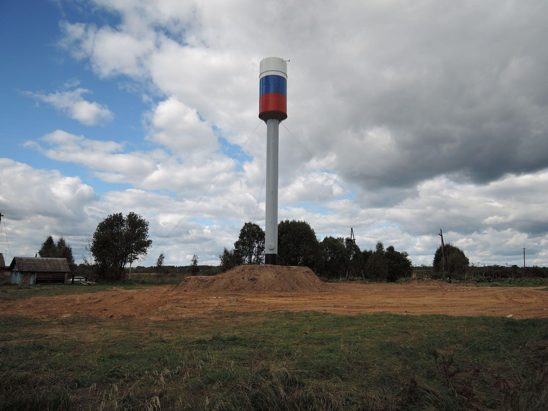 Изготавливаем башни водонапорные